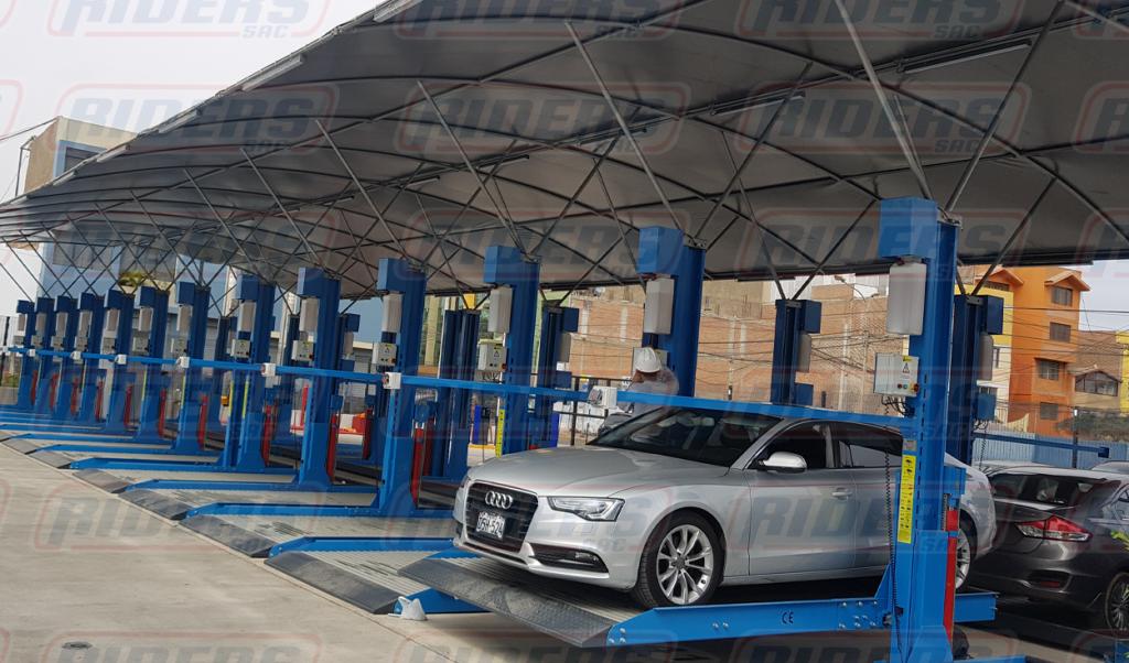 Duplicadores de espacio: La manera más eficaz, moderna y económica para solucionar problemas en el estacionamiento Lima Peru